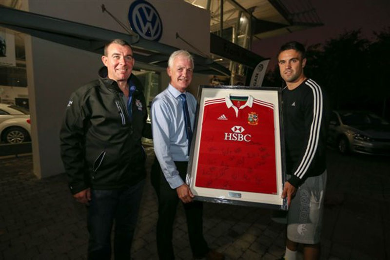 Presentation of Lions Jersey2