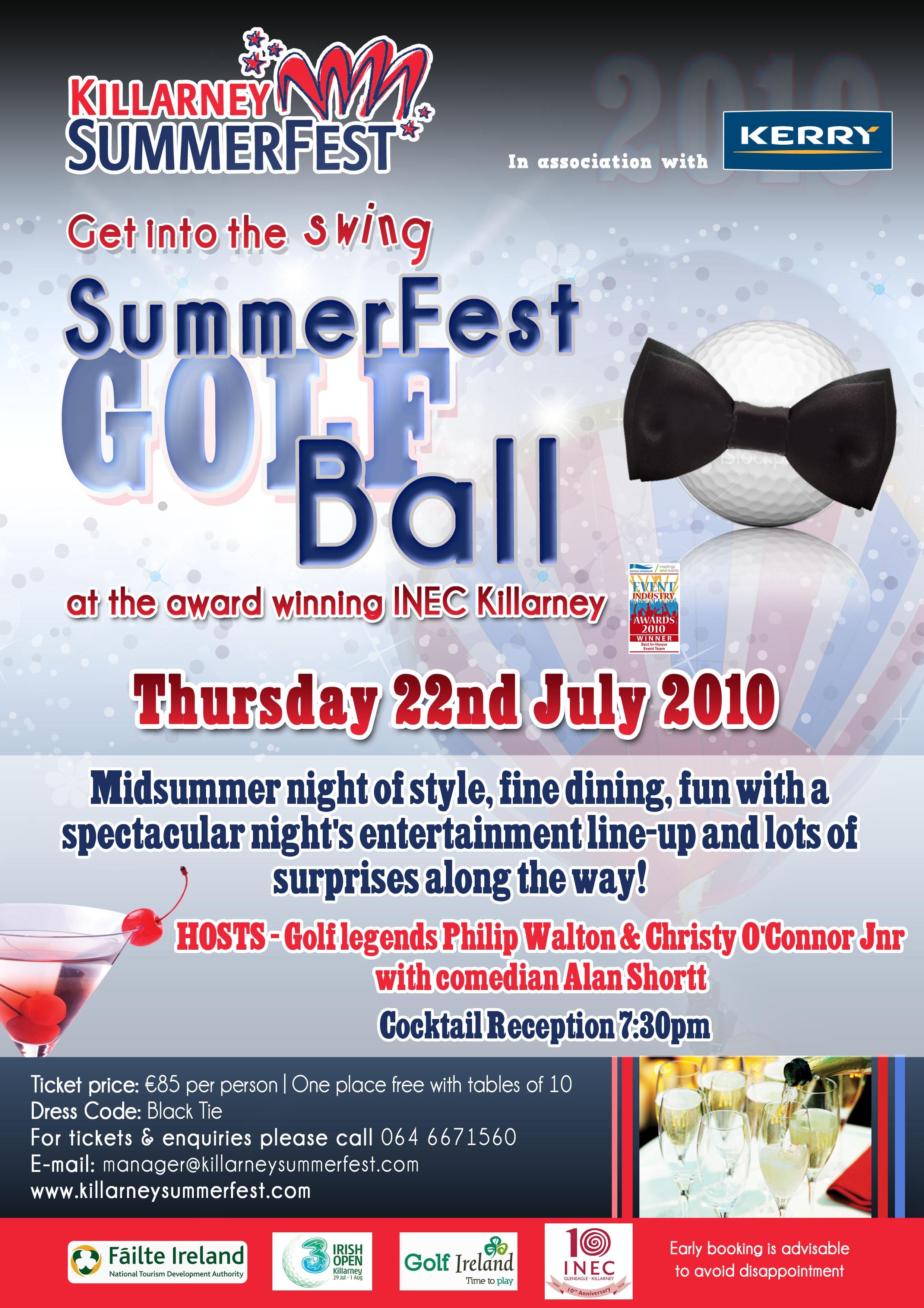 SummerFest Ball 2010 – Add 29-6-2010