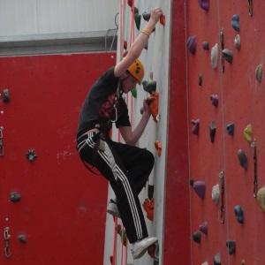 LiveLife.org – Donal Climbing