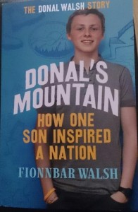 Donal's Mountain....reading material for the trip