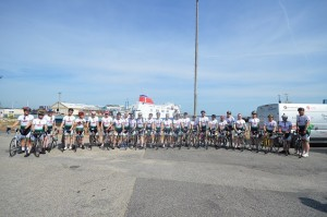 Team Home2Rome at Ferry