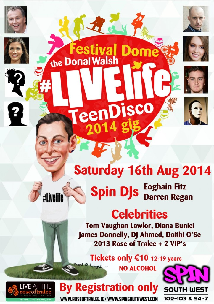 Donal Walsh #Livelife Gig in the Dome