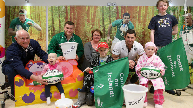 Irish Rugby  the Donal Walsh Foundation
